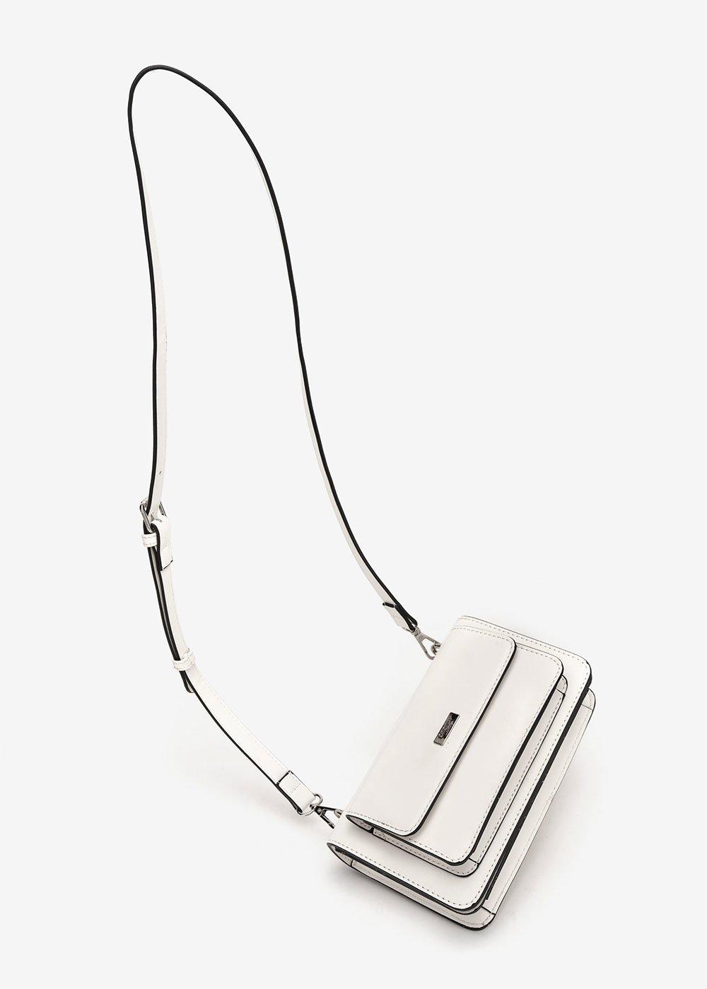 Bady multi-pocket shoulder bag - White - Woman