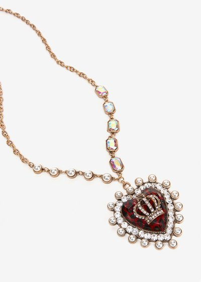 Chelsey necklace with heart