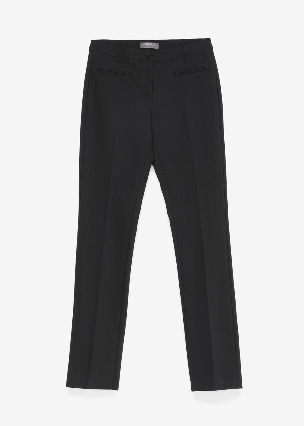 Miranda trousers with welt pockets - Black - Woman
