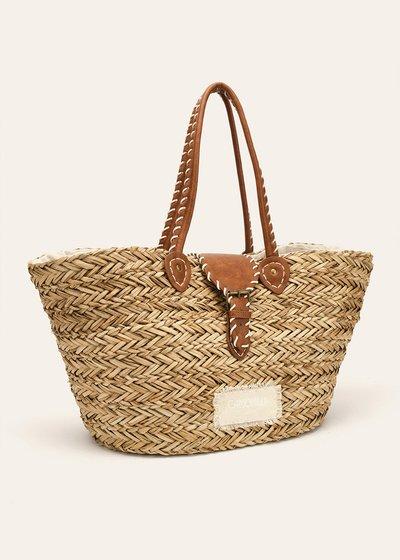 Binnye beach basket bag