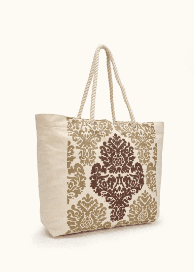 Briz canvas shopping bag with front print
