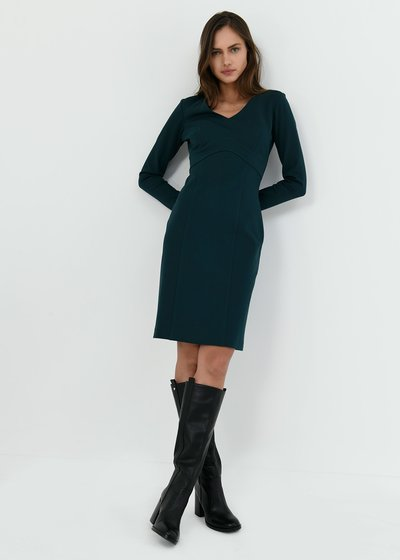 Kate dress in milano stitch