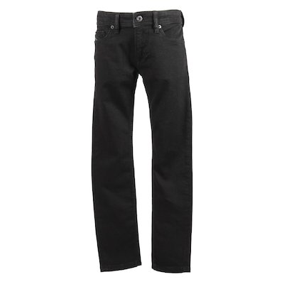 Jeans neri in denim di cotone stretch