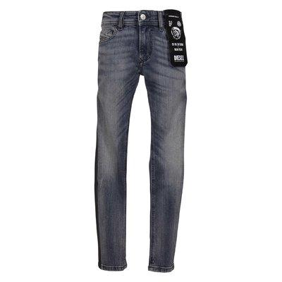 Vintage style stretch cotton denim jeans