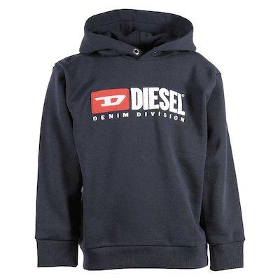 Dark grey cotton sweatshirt hoodie