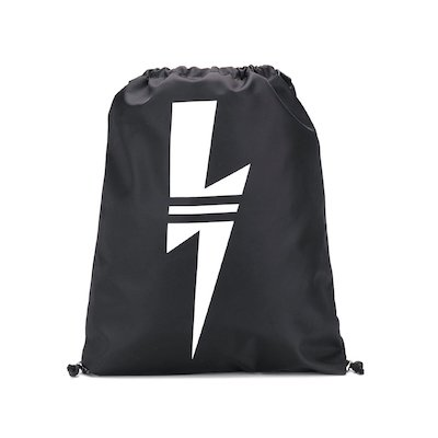 Neil Barrett black boy nylon sack