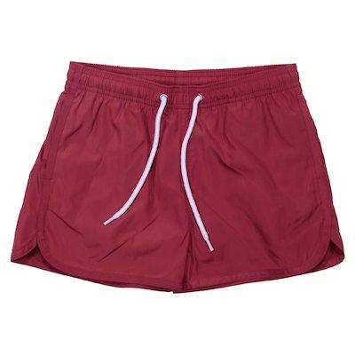 Costume shorts rossi in nylon