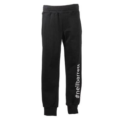 Black logo detail sweatpants