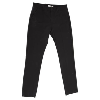 Black viscose blend pants