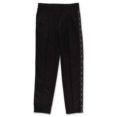MSGM black techno pants