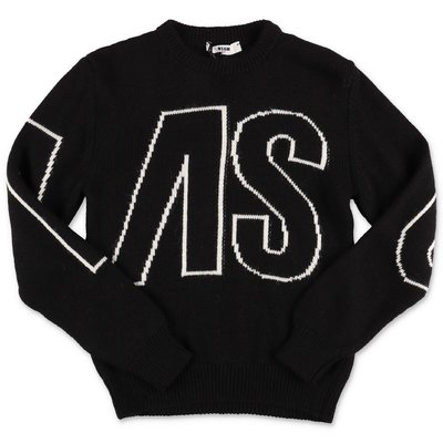 MSGM black knit jumper