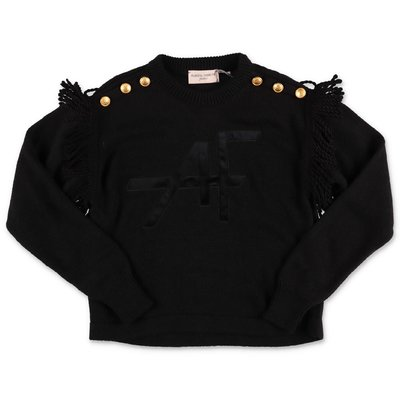 Alberta Ferretti black knit jumper
