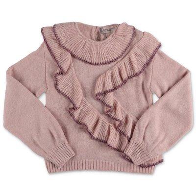 Alberta Ferretti pullover rosa in maglia