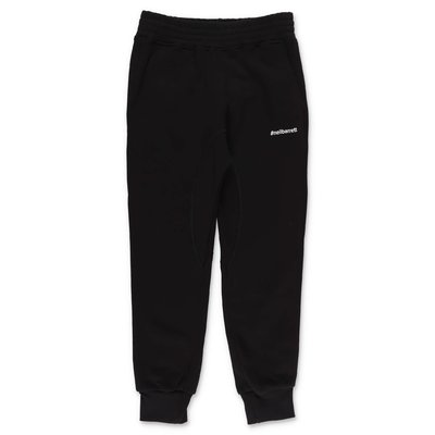 Neil Barrett black cotton sweatpants