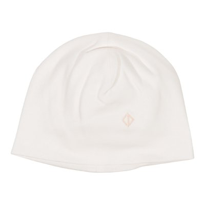 Powder pink stretch cotton hat
