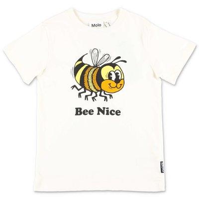 MOLO t-shirt bianca Road in jersey di cotone organico