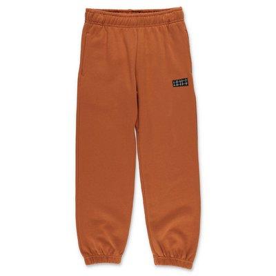 MOLO pantaloni Ams marrone chiaro in felpa di cotone
