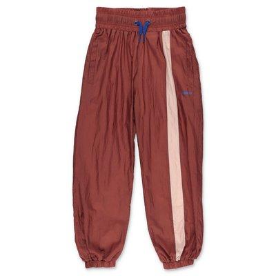 MOLO pantaloni marroni Oleen in techno tessuto