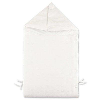 Baby Dior sacco nanna bianco trapuntato in cotone