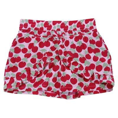 Shorts stampati in viscosa
