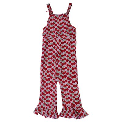 Printed viscose jumpsuit