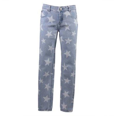 Jeans Stars in denim di cotone stretch