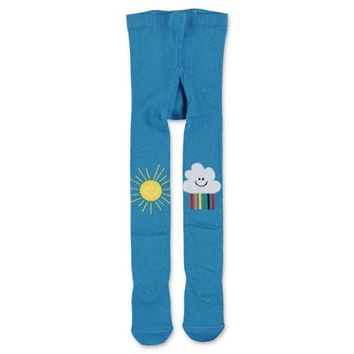 Stella McCartney sky blue cotton socks
