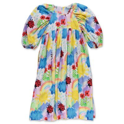 Stella McCartney multicolor floral print dress
