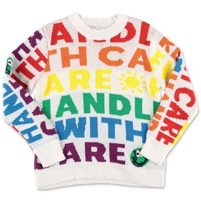 Stella McCartney multicolor cotton & wool knit jumper