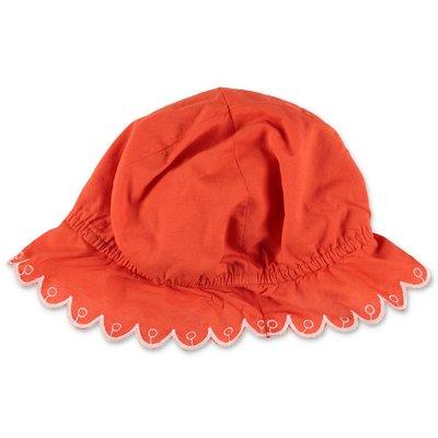 Stella McCartney cappello arancio in cotone