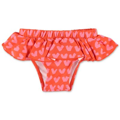 Stella McCartney red spandex bikini bottom