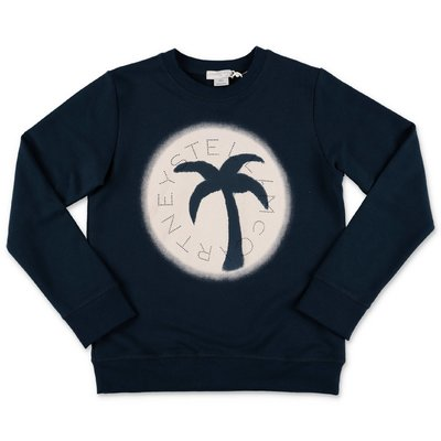Stella McCartney blue cotton sweatshirt