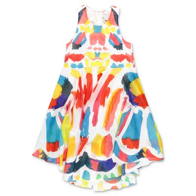 Stella McCartney multicolor cotton muslin dress