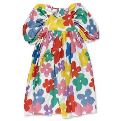 Stella McCartney multicolor cotton poplin dress