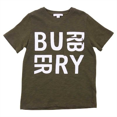 Military green cotton jersey t-shirt
