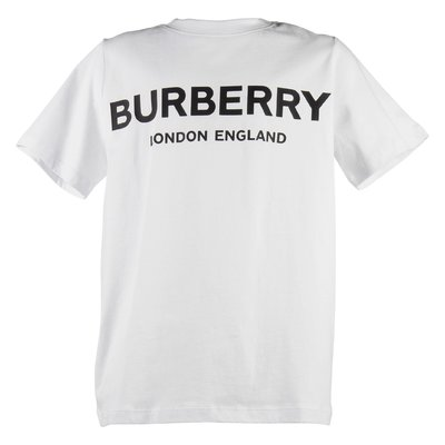 White logo detail cotton jersey Robbie t-shirt
