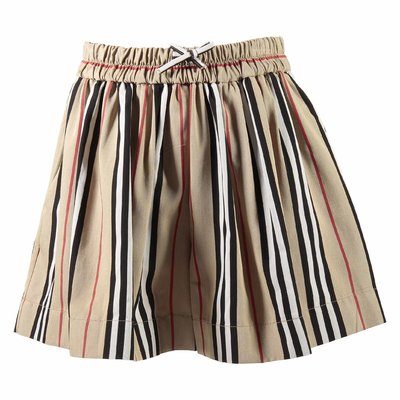 Burberry iconic stripe shorts