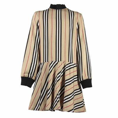 Icon Stripe viscose dress