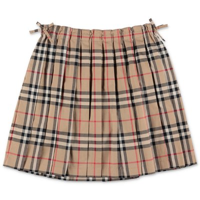 Burberry PEARLY Vintage Check pleated skirt