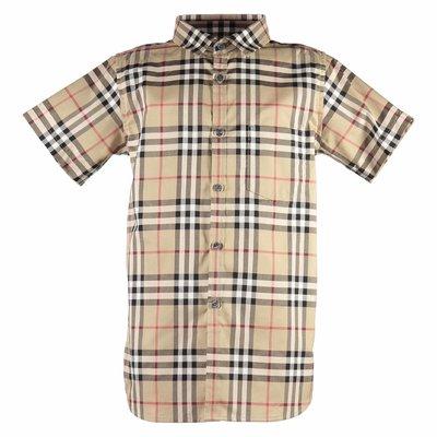 Camicia Fredrick Vintage Check in popeline di cotone