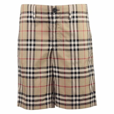 Vintage Check cotton poplin Tristen shorts