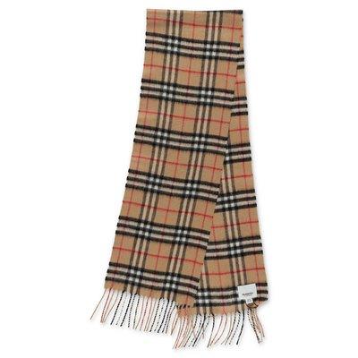 Burberry sciarpa classica motivo Vintage Check in cashmere