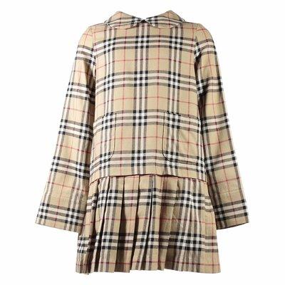 Vintage Check cotton flannel Melanie dress