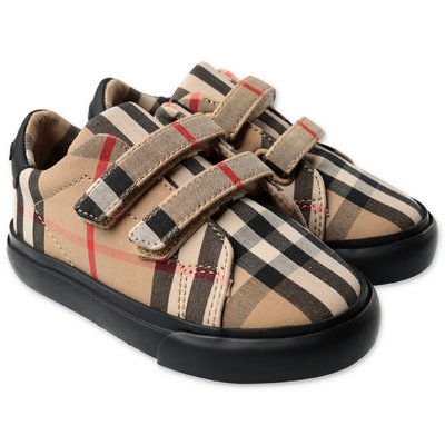 Burberry MARKHAM Vintage Check cotton sneakers