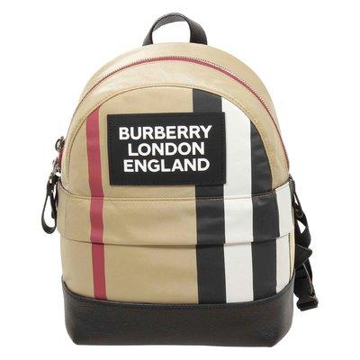 SM Nico Stripe logo backpack
