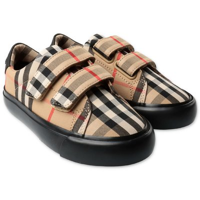 Burberry MARKHAM Vintage Check sneakers in  cotone