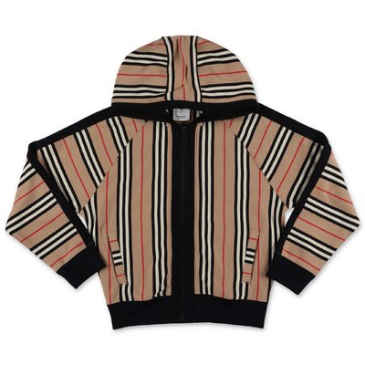 Burberry Icon Stripe cotton Aurelie sweatshirt hoodie