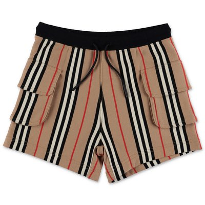 Burberry shorts Nala Icon Stripe in felpa di cotone