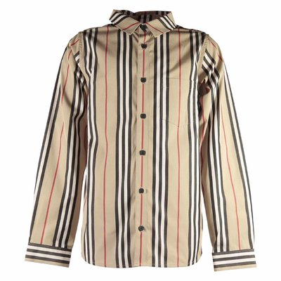 Icon Stripe cotton poplin Fredrick shirt