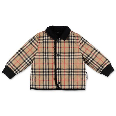 Burberry CULFORD vintage check nylon quilted jacket